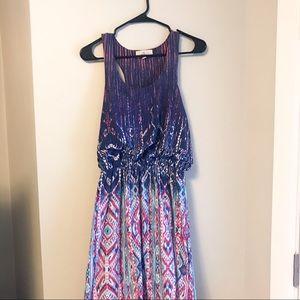 Cool Colored Maxi Long Dress